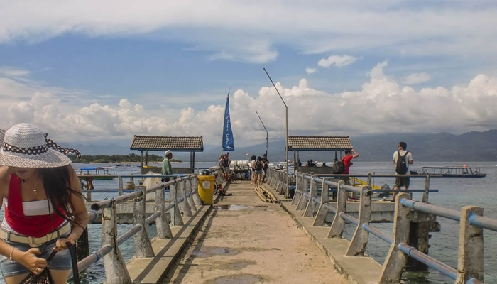 Gili Trawangan Harbor