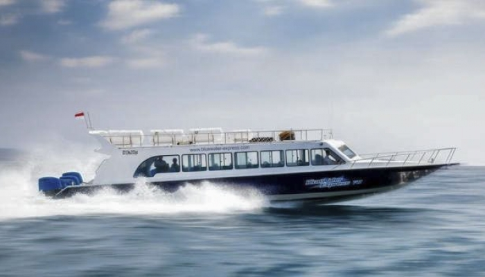 Blue Water Express Boat
