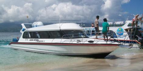 Fast Boat Bali to Gili Meno