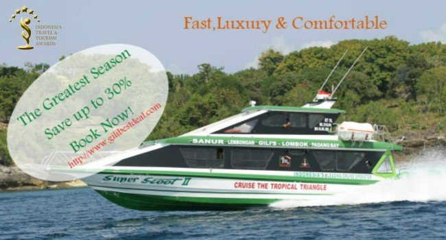 Scoot Fast cruises,your best way from Bali(Sanur)-Nusa Lembongan-Lombok-Gili Islands
