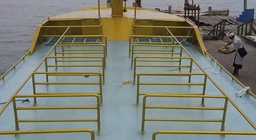 upper deck Golden Queen Fast Boat